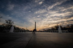 Washington DC sunrise wedding photographer