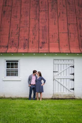 Jennifer & Nick's Engagement | Sky Meadows State Park, Virginia Wedding Photographer