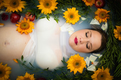 Maternity Milkbath Photographer