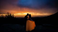 Skyline Drive Virginia Sunset Wedding Photographer