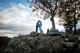 Skyline Drive Virginia Maternity Photographer