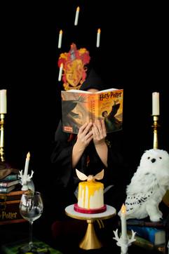 Rixeyville Virginia Harry Potter Adult Cake Smash Photographer