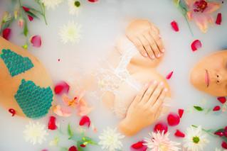 Ms. E Milk Bath | Rixey Manor, Rixeyville Virginia Milk Bath Photographer