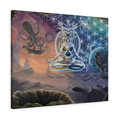 """Everything is Interconnected"" Canvas Gallery Wraps"