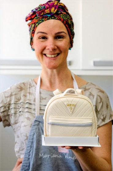 Bolo Artístico Esculpido Bolsa Feminina para o Dia das Mães