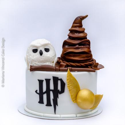 Bolo Harry Porter modelagem 3D
