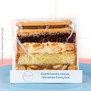 Fatia de Bolo Slice Cake