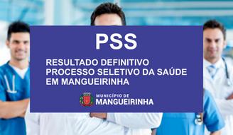 RESULTADO DEFINITIVO PSS DA SAÚDE EM MANGUEIRINHA (PSS 001/2020)