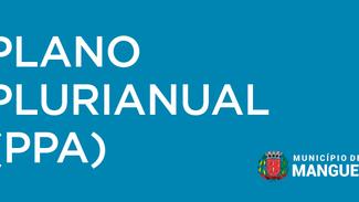 Participe da Audiência Pública do PPA (Plano Plurianual - Quadriênio 2022 a 2025).