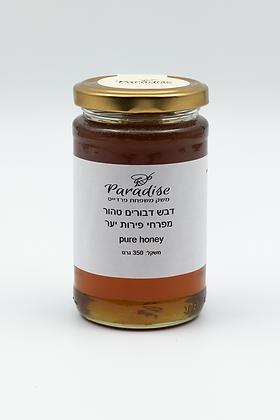 דבש דבורים טהור מפרחי פירות יער