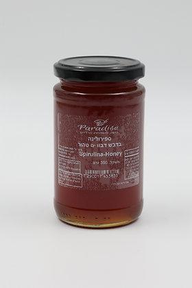 דבש בתוספת ספירולינה