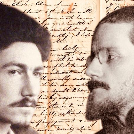 A Sirmione con Pound e Joyce, 1920.