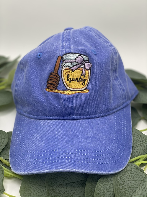 Blue Honey Cap