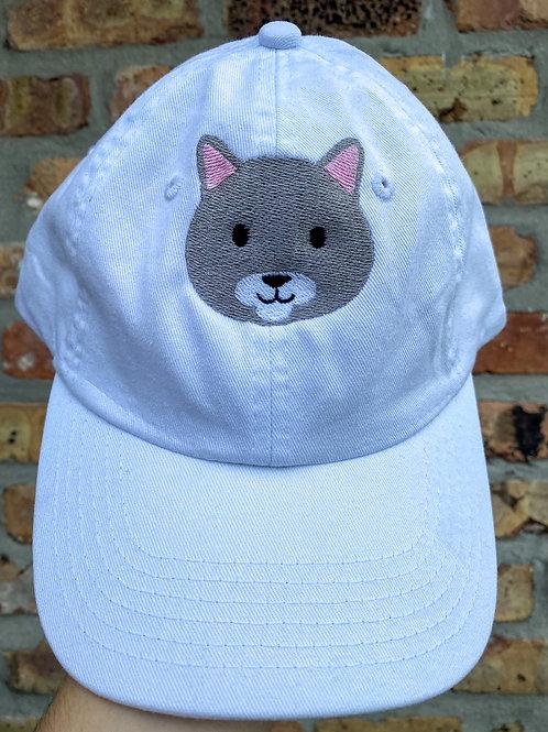 Grey Cat Cap