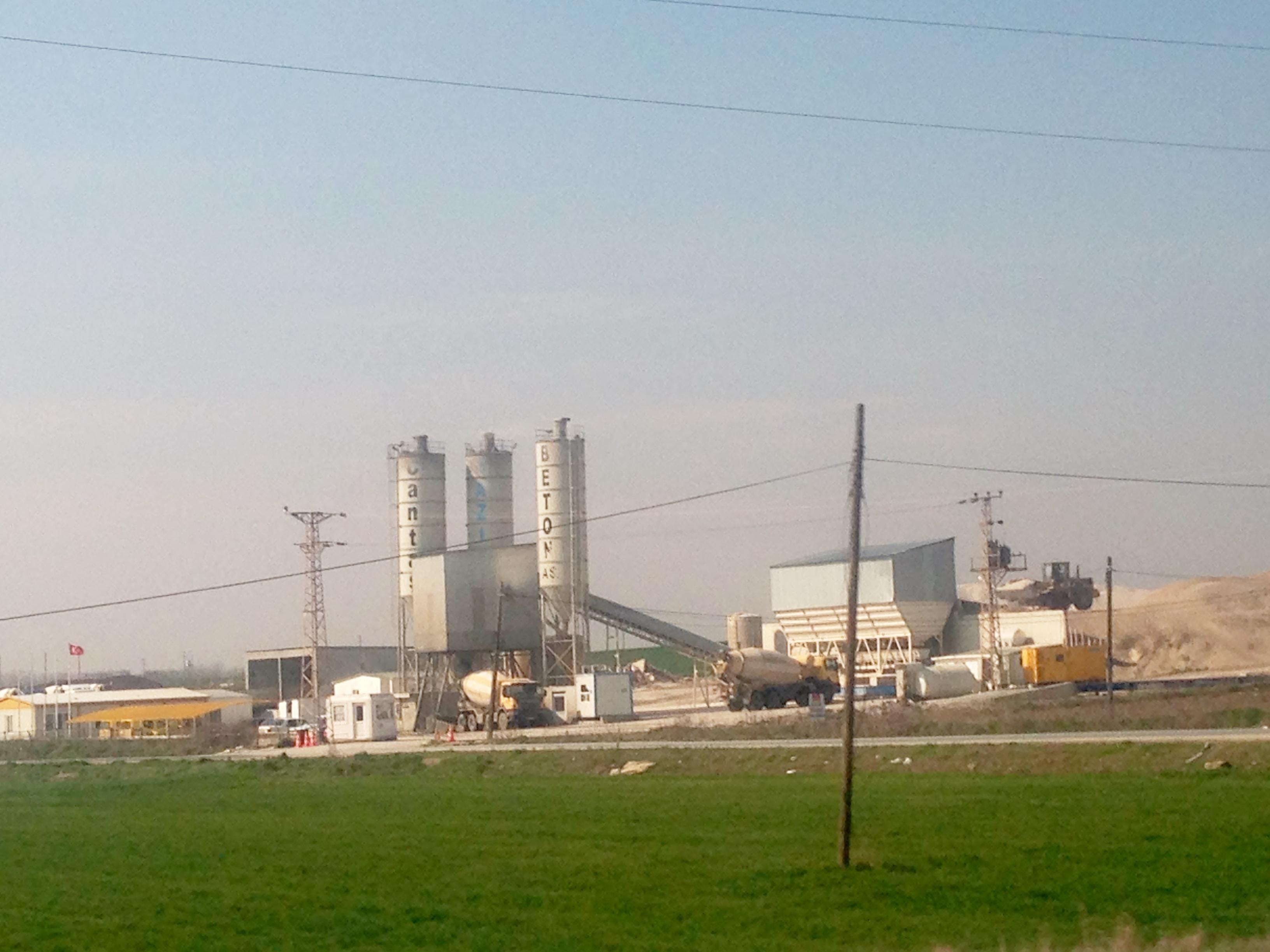 Edirne hazır beton santrali
