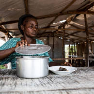 Annie Bete, 45 years old, from Central African Republic