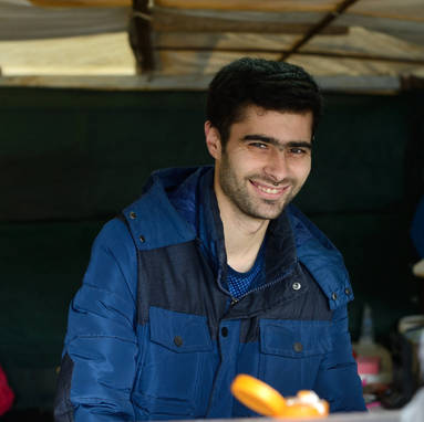 Abdullah, from Aleppo, Syria