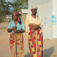 Rosary, 62 years old, and Renate, 72 years old, from Burundi.