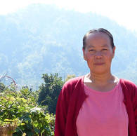 Kataerina, 35 years old, from Pyin Soung village in southern Shan State, Myanmar