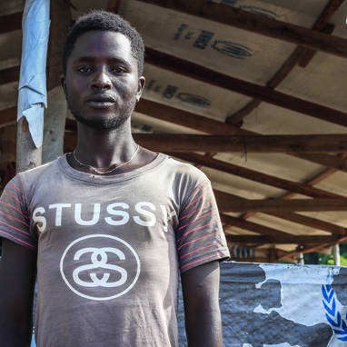 Eric (name changed), 22 years old, from Burundi