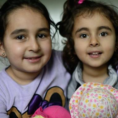Aya & Lubna, from Aleppo, Syria