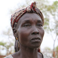 Mary Poni, 45 years old, from Kajo Keji in South Sudan.