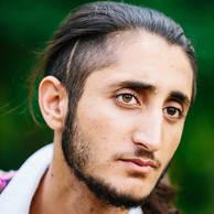 Zaid Aliass, 18 years old, from Sinjar, Iraq