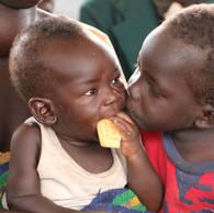 Ezra and Nicolas, from Alero, South Sudan