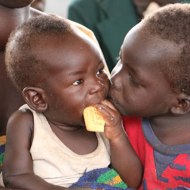 Ezra and Nicolas, from Alero, South Sudan