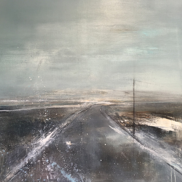 Slope of The Moor 85x85cm
