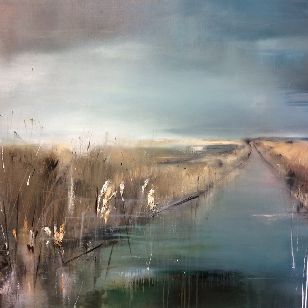Edge of the Marshes 105X125cm