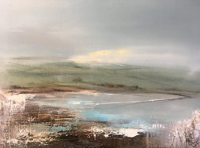 Uninhabited Stillness, Nidderdale 55x75c