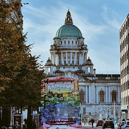 Belfast City Hall Meeting place for Eclectic Belfast City Walking Tour