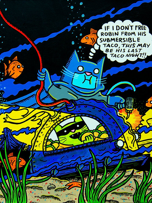 Detective Comics #70 Batman cover parody