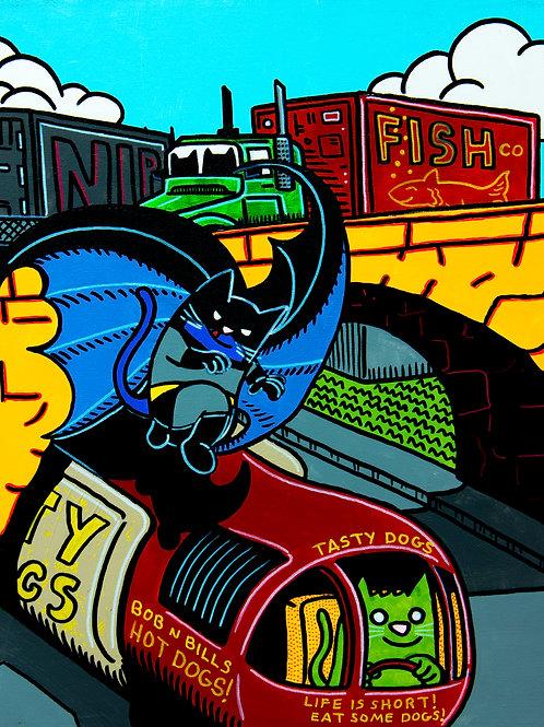 Detective Comics #29 Batman cover parody