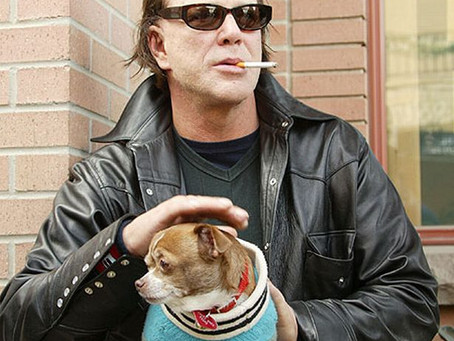 That time we wrote a song about Mickey Rourke.