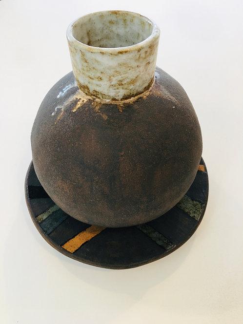 Peça de cerâmica Cristina Galeão
