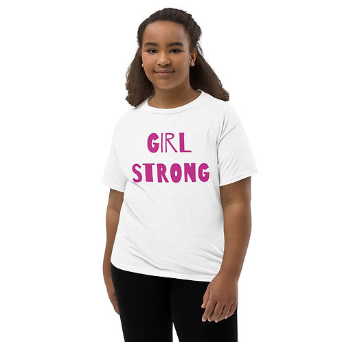 Girl Strong Youth Short Sleeve T-Shirt