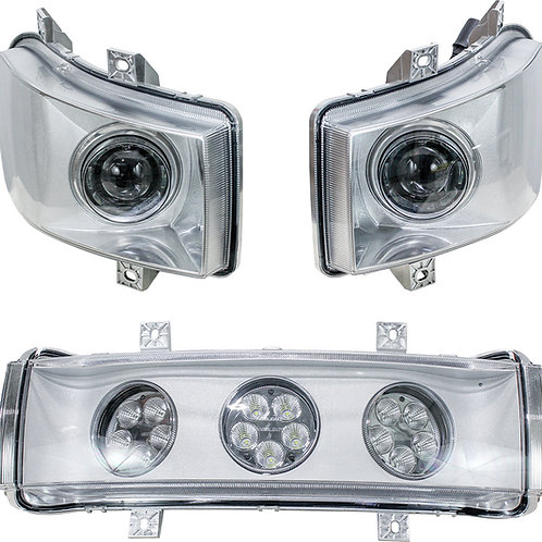 Case IH Magnum-MX-Steiger Series LED Hood Light Kit