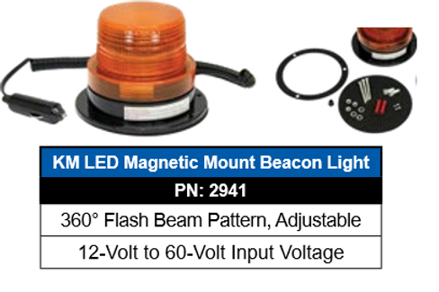 Magnetic Mount Beacon Light