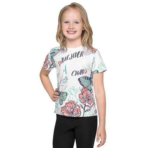 Daughter of Chaos crew neck t-shirt