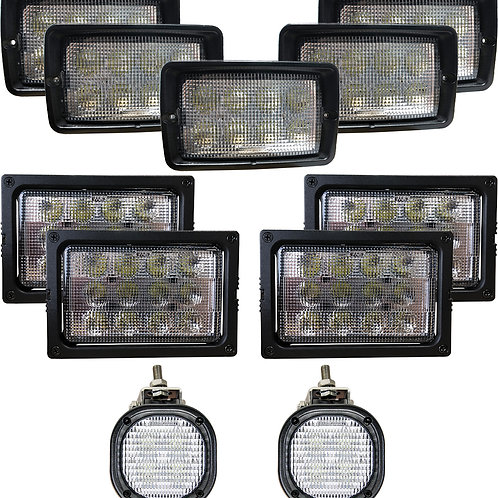 Complete John Deere & MacDon Windrower LED Light Kit