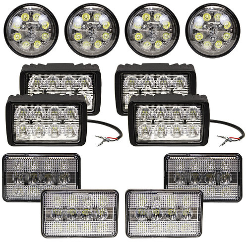 Complete John Deere 9000-9000T Series Light Kit
