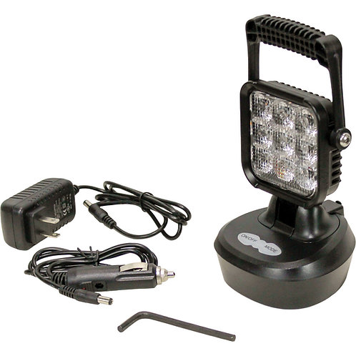 Rechargeable Magnetic Amber Work Light