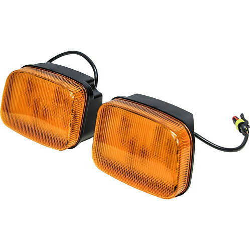 Case IH 95-5200 Series LED Amber Cab Corner Light Kit