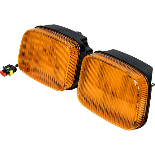 John Deere 5000-7030 Series Amber Cab Corner Light Kit