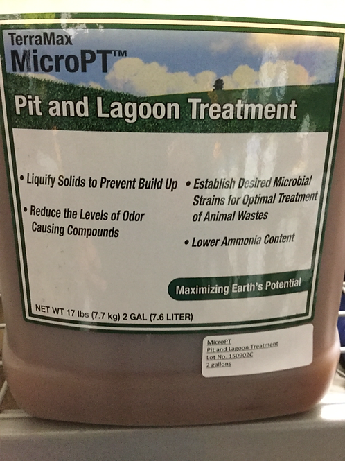 MICRO PT PIT AND LAGOON TREATMENT