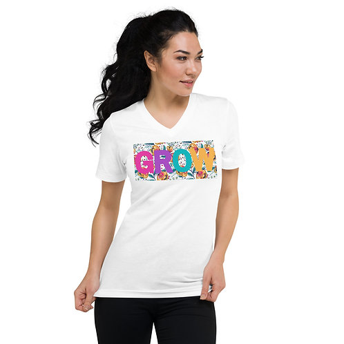 GROW V-Neck T-Shirt