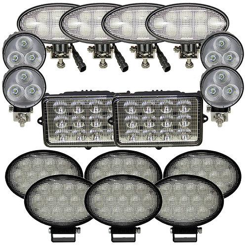 Complete John Deere S-T-W Series Combine LED Light Kit