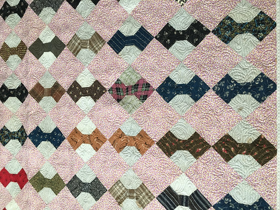 Vintage Bow Tie Quilt